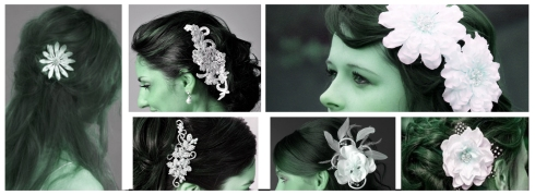 Fashion blog, Hair flower